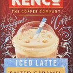 Kenco Iced Latte Salted Caramel Instant Coffee 8 Sachets 230 g