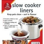 Slow Cooker Liners - 5 Pack