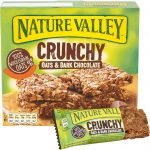 Nature Valley Crunchy Oats & Dark Chocolate Cereal Bars 42g 10 Bars(5 X 2)