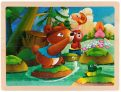 100 Piece Wooden Puzzles for Kids Ages 4-8 Catch Fish Jigsaw Toddlers
