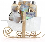 Bath and Body Gift Set – Body & Earth Bath Sets with Jasmine & Honey Scent
