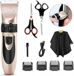 Cordless Rechargeable Electric Clippers Set