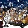 EAMBRITE Remote Control Snowflake Christmas Decorative Projector Lights 60% off
