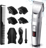 Cordless Waterproof USB Rechargeable Electric Hair Clippers