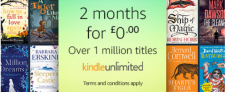 Kindle Unlimited Promotion: 2 months for £0.00