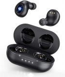 iTeknic Waterproof Bluetooth Earbuds with Hi-Fi Stereo Sound USB C Quick Charge