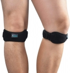 Knee Brace Patella Strap 2 Pack For Pain Relief when Running, Hiking, Trekking, Biking And Other Sports