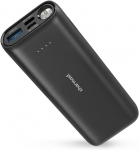 Power Bank 10000mAh Mini Portable Charger with LED Flashlight