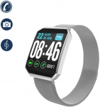 Smart Watch Fashion Touch Screen Sports Watch with Pedometer Heart Rate Blood Pressure Blood Oxygen Monitor