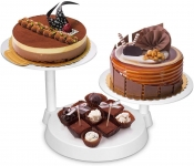 Uten 3 Tiers Cake Decorate Display Stand, 3 Plates Cake Support Stand